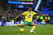 Picture by Paul Chesterton/Focus Images Ltd.  07904 640267.17/12/11.Kyle Naughton of Norwich in action during the Barclays Premier League match at Goodison Park Stadium, Liverpool.