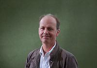 David Belton<br /> Edinburgh International Book Festival 2014 photos taken in Charlotte Square Gardens. Edinburgh. Pako Mera 11/08/2014