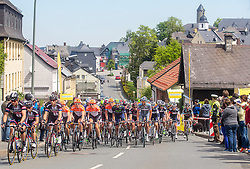 Radsport: 36. Bayern Rundfahrt 2015 / 3. Etappe, Selb - Ebern, 15.05.2015<br /> Cycling: 36th Tour of Bavaria 2015 / Stage 3, <br /> Selb - Ebern, 15.05.2015<br /> Bergwertung - mountains, Lichtenberg