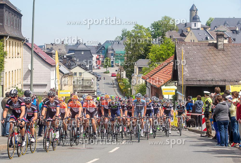 Radsport: 36. Bayern Rundfahrt 2015 / 3. Etappe, Selb - Ebern, 15.05.2015<br /> Cycling: 36th Tour of Bavaria 2015 / Stage 3, <br /> Selb - Ebern, 15.05.2015<br /> Bergwertung - mountains, Lichtenberg