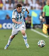 FUSSBALL WM 2014 ACHTELFINALE  Argentinien - Schweiz