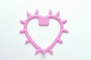 still life of plastic heart