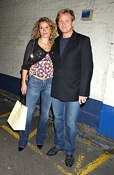 Top chef GORDON RAMSAY and his wife TANA at a party hosted by Jo Malone - Pomegranate Noir, held at The Vinyl Factory, 45 Foubert's Place, London W1 on 15th September 2005.<br />