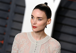 Rooney Mara arrives at the 2016 Vanity Fair Oscar Party Hosted By Graydon Carter at Wallis Annenberg Center for the Performing Arts on February 28, 2016 in Beverly Hills, California. EXPA Pictures © 2016, PhotoCredit: EXPA/ Photoshot/ Dennis Van Tine<br />