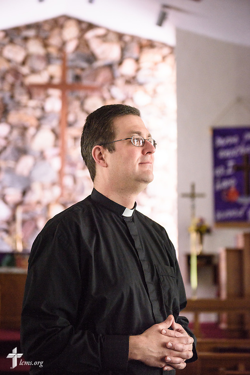 Portrait of the Rev. Mark Nierman, pastor of Mount Olive Lutheran Church, on Thursday, March 3, 2016, in Loveland, Colo. LCMS Communications/Erik M. Lunsford