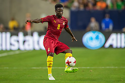 June 28, 2017: Ghana midfielder Ebenezer Ofori (8) controls the ball during the 1st half of an international soccer friendly match between Mexico and Ghana at NRG Stadium in Houston, TX. ..Trask Smith/CSM(Credit Image: © Trask Smith/CSM via ZUMA Wire)