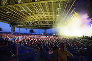 Pink Floyd Tribute group El Monstero performing at Verizon Wireless Amphitheater in St. Louis, Missouri on July 14, 2012.
