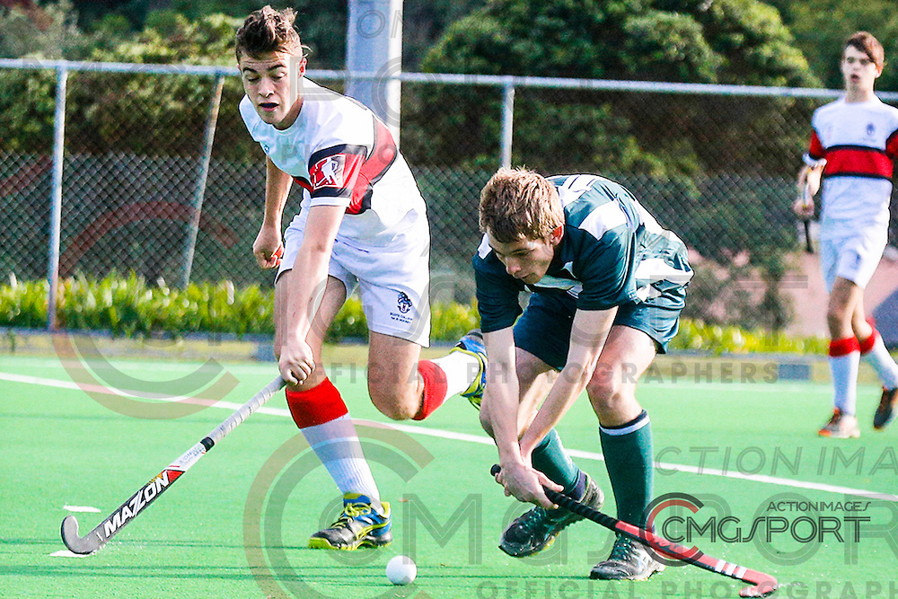 Pakuranga College V Scots College Day 4<br /> Rankin Cup Hockey Tournament<br /> National Hockey Stadium, Wellington<br /> August 28- 4 September 2016<br /> Photo Chris Clarke CMGSPORT<br /> &copy; www.cmgsport.co.nz