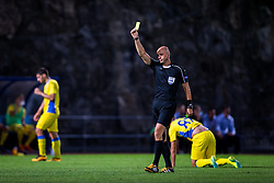 Referee during football match between NK Domzale and FC Lusitanos Andorra in second leg of UEFA Europa league qualifications on July 7, 2016 in Andorra la Vella, Andorra. Photo by Ziga Zupan / Sportida