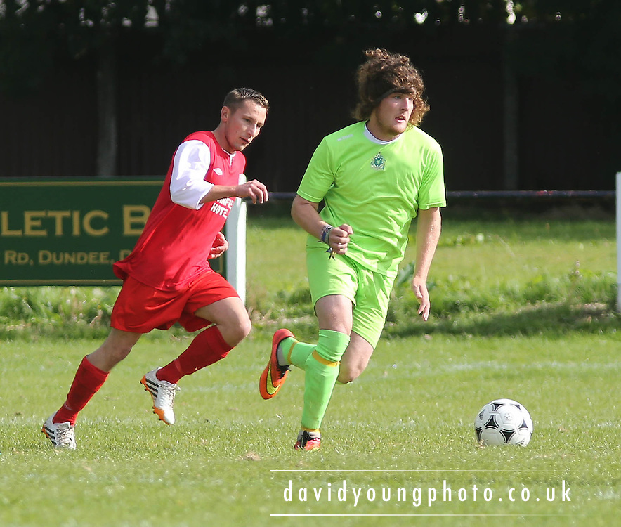 Dundee Hibs (green) v Docs AFC (red)  - Riverview Utilities Consulting Consolation Cup final - Dundee Summer League FA<br /> <br /> <br />  - &copy; David Young - www.davidyoungphoto.co.uk - email: davidyoungphoto@gmail.com