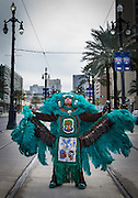 Guardians of the Flame Big Chief Brian Nelson; Mardi Gras Indian