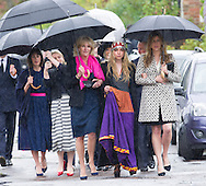 AYESHA SHAND AND AUNT ANNABEL ELLIOT<br /> attend the funeral Mark Shand, father and broter respectively who died in New York last week.<br /> Others attending the funeral included sister Annabel and family as well as his daughetr Ayesha.<br /> Also present were Andrew Parker-Bowles, Camilla former husband and Annabel Goldsmith<br /> The funeral service was held at the  Holy Trinity Church, Stourpaine in Dorset_01/05/2014<br /> Mandatory Credit Photo: &copy;Francis Dias/NEWSPIX INTERNATIONAL<br /> <br /> **ALL FEES PAYABLE TO: &quot;NEWSPIX INTERNATIONAL&quot;**<br /> <br /> IMMEDIATE CONFIRMATION OF USAGE REQUIRED:<br /> Newspix International, 31 Chinnery Hill, Bishop's Stortford, ENGLAND CM23 3PS<br /> Tel:+441279 324672  ; Fax: +441279656877<br /> Mobile:  07775681153<br /> e-mail: info@newspixinternational.co.uk