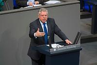 DEU, Deutschland, Germany, Berlin, 15.03.2018: Der aussenpolitische Sprecher der Unionsfraktion im Bundestag, Jürgen Hardt (CDU), bei einer Rede im Deutschen Bundestag.