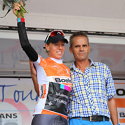 Boels Rental Ladiestour 2013 Trixi Worrack new leader