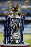 Football - 2016 / 2017 Premier League - Chelsea vs. Sunderland <br /> <br /> The Premier League trophy awaits the champions Chelsea ahead of the kick off  at Stamford Bridge.<br /> <br /> COLORSPORT/DANIEL BEARHAM