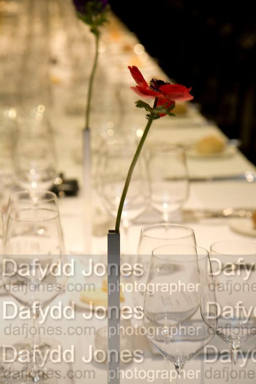 flowers, Rodchenko and Popova: Defining Constructivism. Tate Modern. London. 10 February 2009 *** Local Caption *** -DO NOT ARCHIVE -Copyright Photograph by Dafydd Jones. 248 Clapham Rd. London SW9 0PZ. Tel 0207 820 0771. www.dafjones.com<br /> flowers, Rodchenko and Popova: Defining Constructivism. Tate Modern. London. 10 February 2009