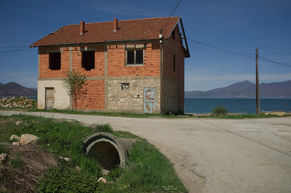 Unfinished building in Stenje, FYR Macedonia