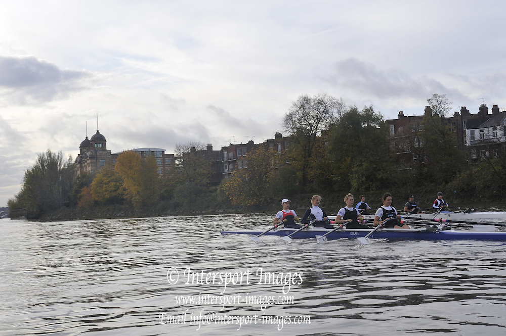 London, Great Britain,  London Rowing Club Women's H/W Quad, W4X, Bow, Jessica EDDIE, 2. Sarah WINKLESS , 3. Emma TWIGG and Juliette HAIGH   ,    Friday [Date}  [Mandatory Credit. Peter Spurrier/Intersport Images] Rowing Course: River Thames, Championship course, Putney to Mortlake 4.25 Miles,