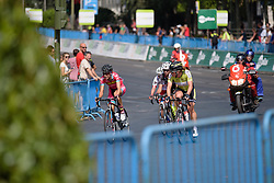 The break is still clear at Madrid Challenge by La Vuelta an 87km road race in Madrid, Spain on 11th September 2016.