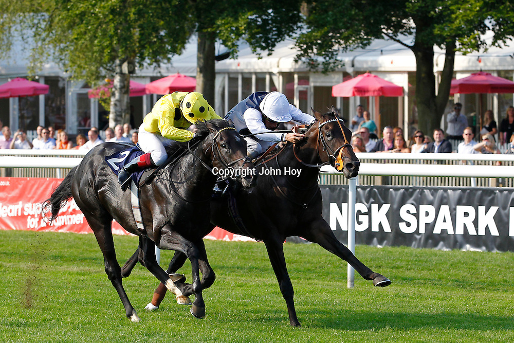 Oasis Cannes and William Buick winning the 5.40 race