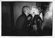 Gianni Versace,Liz Tilberis in New York 1990,ONE TIME USE ONLY - DO NOT ARCHIVE  © Copyright Photograph by Dafydd Jones 66 Stockwell Park Rd. London SW9 0DA Tel 020 7733 0108 www.dafjones.com