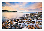 Late afternoon serenity on a quiet corner of the Tasmanian east coast [Kelvedon Beach, Tasmania]<br /> <br /> Image ID: 207433. Order by email to orders@girtbyseaphotography.com quoting the image ID, preferred print size &amp; media. Current standard size prices are published on the Pricing page. Custom sizes also available.