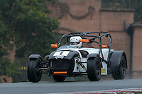 #1 Matt Spark Caterham C400 2000 during the CSCC Gold Arts Magnificent Sevens at Oulton Park, Little Budworth, Cheshire, United Kingdom. October 15 2016. World Copyright Peter Taylor/PSP. <br /> Copy of publication required for printed pictures.  Every used picture is fee-liable. http://archive.petertaylor-photographic.co.uk