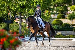 LINDNER Ann-Kathrin (GER), Flatley 2<br /> Dressurprüfung Kl. S mit Piaff und Passage<br /> Piaff-Förderpreis-Vorbereitungsprüfung<br /> Preis der Liselotte Schindling-Stiftung<br /> Kronberg - Schafhof Dressurfestival 2020<br /> 27. Juni 2020<br /> © www.sportfotos-lafrentz.de/Stefan Lafrentz