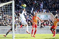Rudy Riou - 05.04.2015 - Bordeaux / Lens - 31eme journee de Ligue 1<br />Photo : Manuel Blondeau / Icon Sport
