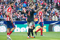 Athletic Club Inigo Martinez during La Liga match between Atletico de Madrid and Athletic Club and Wanda Metropolitano in Madrid , Spain. February 18, 2018. (ALTERPHOTOS/Borja B.Hojas)