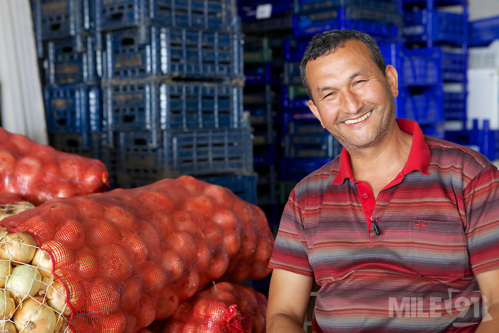 Şenay is a wholesaler who sources local fruit and vegetables as part of the Taste of Fethiye project.