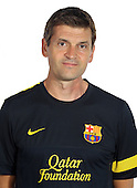 FC Barcelona team photos 2012