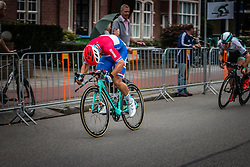 Dylan GROENEWEGEN (NED) of Team Lotto NL-Jumbo sprinting to the finish during the Arnhem Veenendaal Classic at Veenendaal, Utrecht, The Netherlands, 19 August 2016.<br /> Photo by Pim Nijland / PelotonPhotos.com | All Rights Reserved