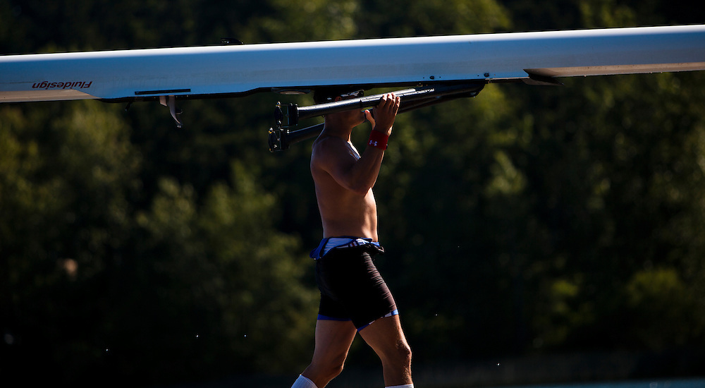 Rob Gibson Rowing Canada Aviron Olympic athlete sports photo Kevin Light