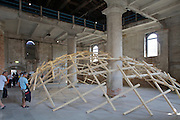"12th Biennale of Architecture. Arsenale. ""The decay of a dome"", 2010, by Wang Shu and Lu Wenyu."
