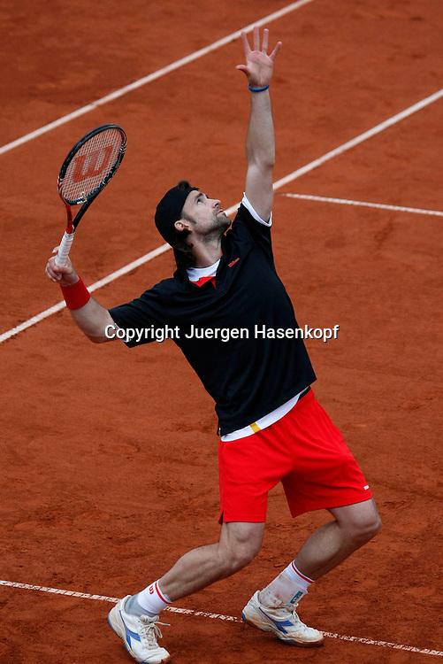 BMW Open 2010, Muenchen, Sport, Tennis,  International Series ATP  Tournament,   Nicolas Kiefer(GER)..Foto: Juergen Hasenkopf