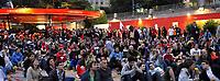 GEPA-1106087332 - WIEN,AUSTRIA,11.JUN.08 - FUSSBALL - UEFA Europameisterschaft, EURO 2008, Public Viewing Plaetze, Strandbar Herrmann am Wiener Donaukanal, Swiss Beach. Bild zeigt Fans. <br />Foto: GEPA pictures/ Reinhard Mueller