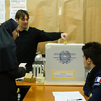 Italians cast their vote