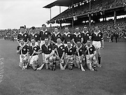 New Hogan Stand and Flag Pageant at Croke Park<br /> Also Railway Cup Final - Munster vs Connaught <br /> Connaught Team<br /> 07/06/1959