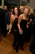 Natasha Corrett with her mother Kelly Hoppen, Party to celebrate the publication of Kelly Hoppen's Style Book.  50 Cheyne Walk. London. 10 November 2004. ONE TIME USE ONLY - DO NOT ARCHIVE  © Copyright Photograph by Dafydd Jones 66 Stockwell Park Rd. London SW9 0DA Tel 020 7733 0108 www.dafjones.com