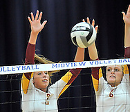 Elyria vs. Avon Lake varsity volleyball on October 23, 2012. Images © David Richard and may not be copied, posted, published or printed without permission.