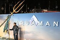 Jason Momoa, Aquaman - World Premiere, Leicester Square, London, UK, 26 November 2018, Photo by Richard Goldschmidt