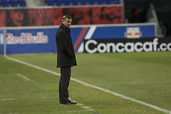 March 13, 2018 - Harrison, New Jersey, United States - Jesse Marsch coach of Red Bulls attends Scotiabank Concacaf Champions League quarterfinal second leg game against Club Tijuana at Red Bull Arena Red Bulls won 3 - 1 (5 - 1 on aggregate) (Credit Image: © Lev Radin/Pacific Press via ZUMA Wire)