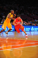 Ohio State guard Jon Diebler #33 drives to the basket during the 2K Sports Classic at Madison Square Garden. (Mandatory Credit: Delane B. Rouse/Delane Rouse Photography)