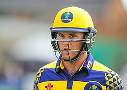 Colin Ingram of Glamorgan walks off.  - Mandatory by-line: Alex Davidson/JMP - 24/07/2016 - CRICKET - Cooper Associates County Ground - Taunton, United Kingdom - Somerset v Glamorgan - Royal London One Day