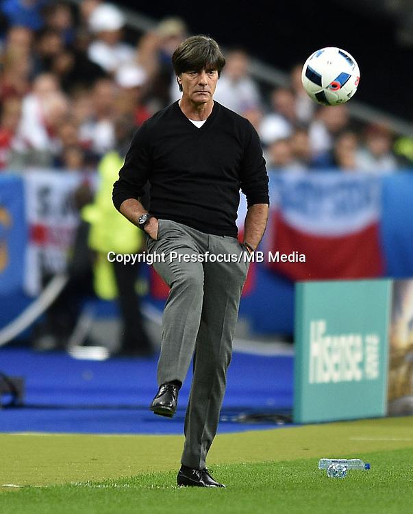 2016.06.16 Saint-Denis<br /> Football UEFA Euro 2016 group C game between Poland and Germany<br /> Joachim Loew trener head coach<br /> Credit: Lukasz Laskowski / PressFocus