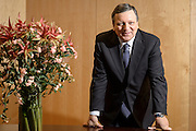 Jose Manuel Barroso, the president of the European Commission poses for the portrait at his office in Brussels, Belgium on 14.10.2014 by Wiktor Dabkowski