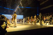 SYDNEY, NSW - MAY 13-18:  Mercedes Benz Fashion Week in Sydney. (Photo by Damian Briggs/ Speed Media)