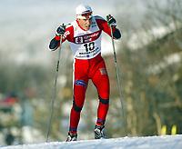 Langrenn, 22. november 2003, Verdenscup Beitostølen, Eldar Rønning, Norge