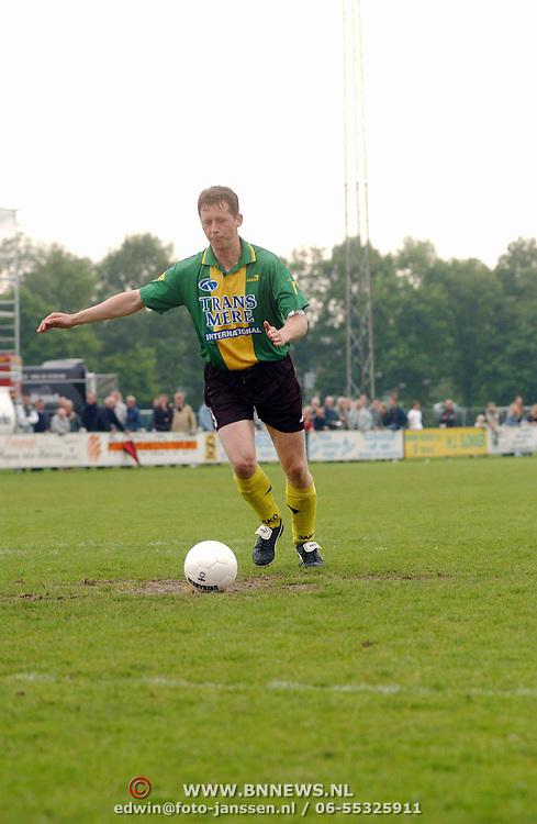 SV Huizen - Harkemasche Boys 2-2, Erwin van der Lugt
